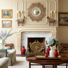 Traditional Living Room by Douglas VanderHorn Architects