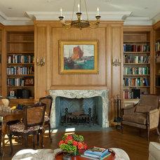 Traditional Living Room by John Malick & Associates
