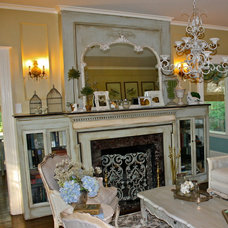 Eclectic Living Room by Arborwoods Manor