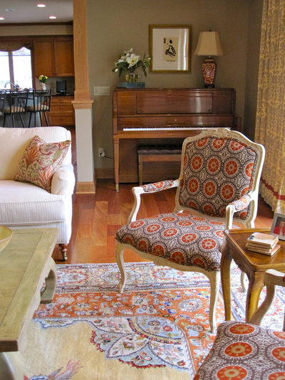 Traditional Living Room By Susan E Brown Interior Design