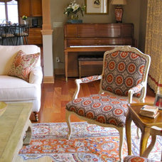 Traditional Living Room by Susan E. Brown Interior Design