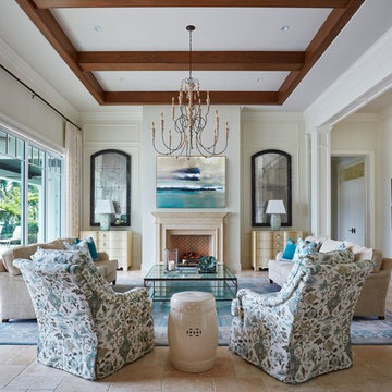 French Country meets Palm Beach