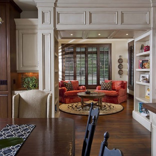 Inspiration for a small timeless enclosed living room remodel in Orlando