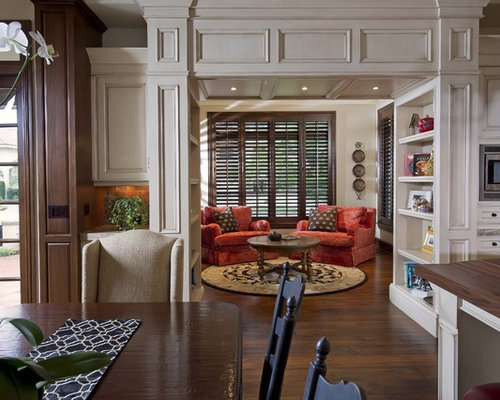 Inspiration for a small timeless enclosed living room remodel in Orlando. Woodwork   Houzz
