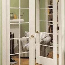 Modern Living Room by HomeStory Easy Door Installation