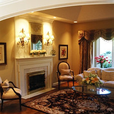 Traditional Living Room by Renaissance Kitchen and Home