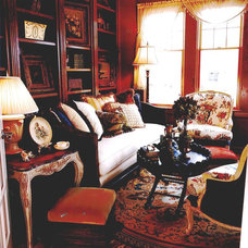 Traditional Living Room by Karlene Hunter Baum, Allied ASID