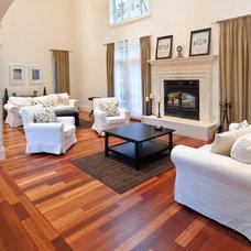 Mediterranean Living Room by Paul Lopa Designs
