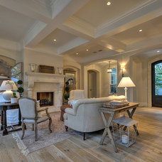 Traditional Living Room by Lee Construction