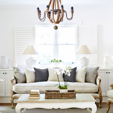 Traditional Living Room by Lavender Hill Interiors