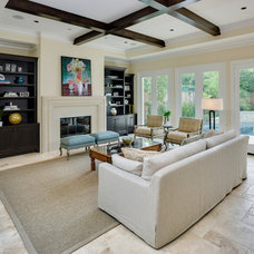 Living Room by Frankel Building Group