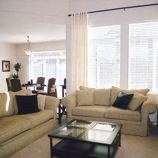 Contemporary Living Room Frenchflair