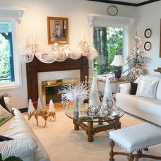 Traditional Living Room Frenchflair