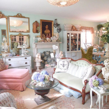 Frenchy & Bright Living Room