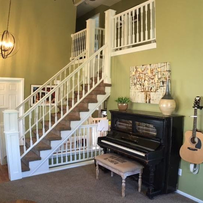 Fresh and Colorful Main Floor Makeover