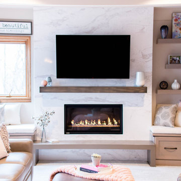 Fresh and Cozy Living Room