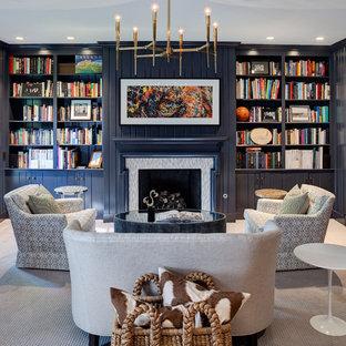Navy Blue Living Room Ideas Photos Houzz