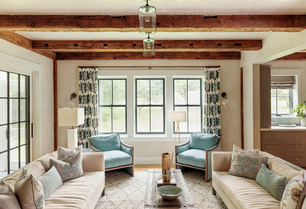 Country Living Room by Jess Cooney Interiors