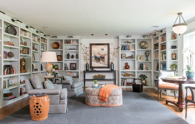 Room of the Day: A Peaceful Library Serves as a Couple's Retreat