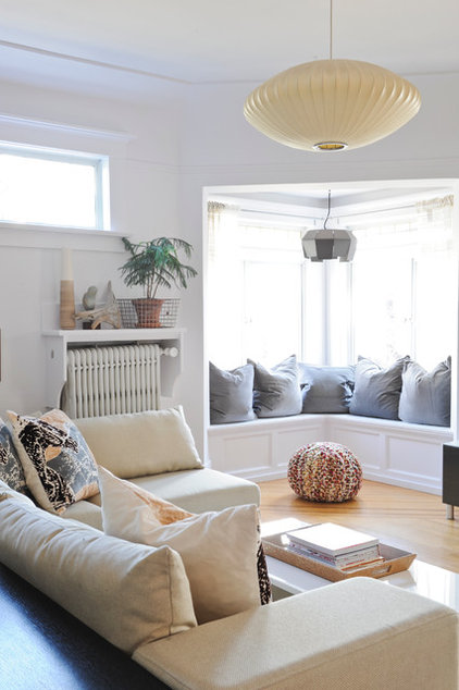 Eclectic Living Room by A Good Chick To Know