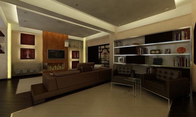 Modern Living Room Friend