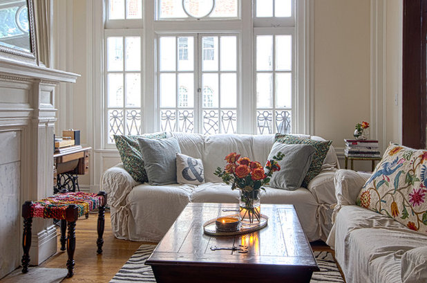 Traditional Living Room by Alex Amend Photography