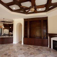 Traditional Living Room by Savannah Construction
