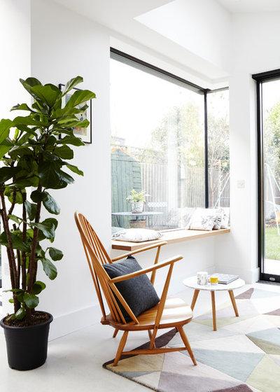 Scandinavian Living Room by Campbell Cadey