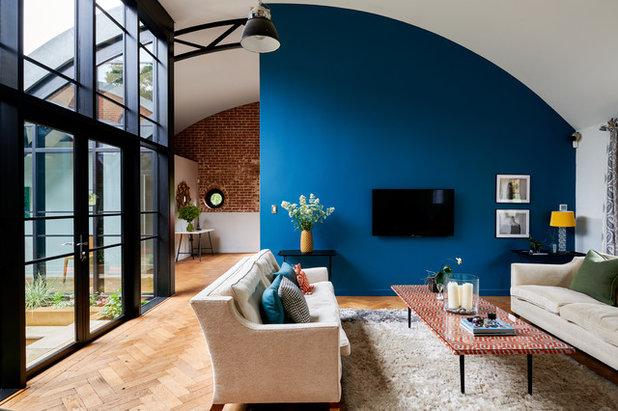 Modern Wohnbereich by Mark Hardy