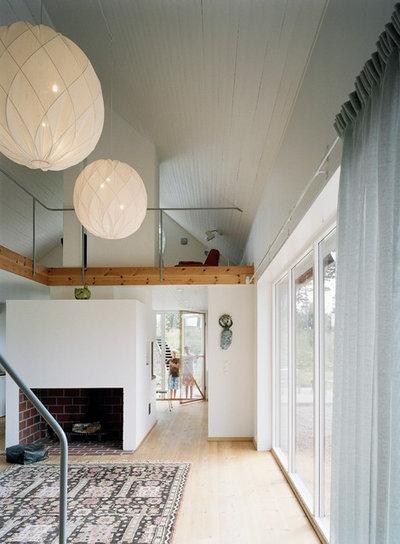 Skandinavisk Vardagsrum by Mikael Bergquist Arkitektkontor