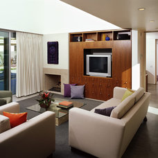 Modern Living Room by OJMR-Architects, Inc.