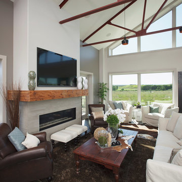 From Concrete Barn to Custom Home