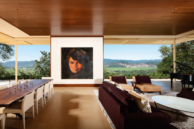 living room portraits. Contemporary Living Room by Rizzoli New York The Faces Have It  Large Portraits Go Over Big
