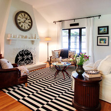 Eclectic Living Room by Stephanie Wiley Photography