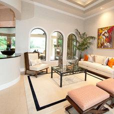 Mediterranean Living Room by BCB Decor