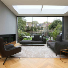 Contemporary Living Room by VC Design Architectural Services