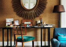 Love the desk. Where did you find trestle table legs?