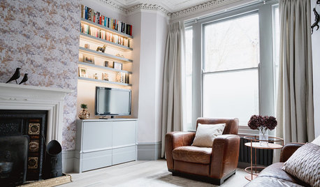 Houzz Tour: A Victorian Terrace That's Both Stylish and Practical