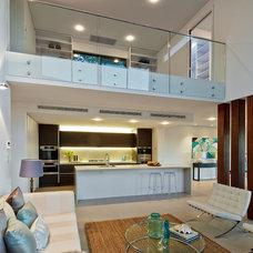 Contemporary Living Room by Sanctum Design