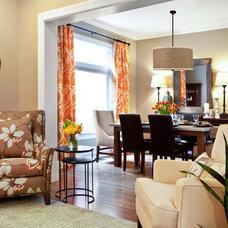 Traditional Living Room by Lisman Studio Interior Design