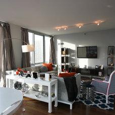 Contemporary Living Room by Habitar Design