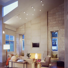 Contemporary Living Room by ROWLAND BROUGHTON ARCHITECTURE & URBAN DESIGN