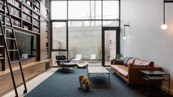 Furman Street Duplex - Living Room
