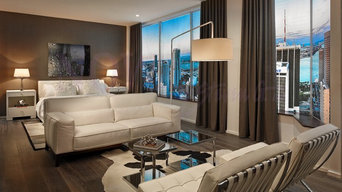 Furnished Models at CENTRO Lofts Miami