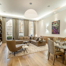 Contemporary Living Room Furnishing