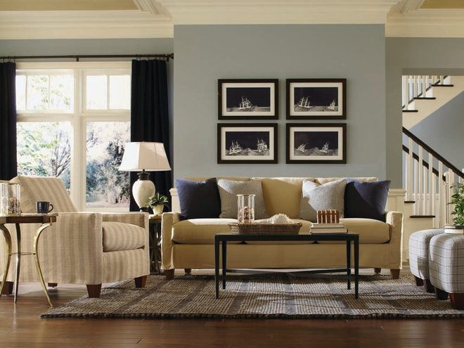Transitional Living Room by LifeStyles Stores Inc.