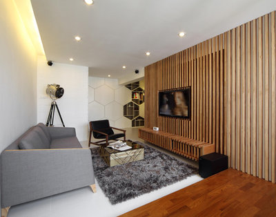 Living Room by Home and Style