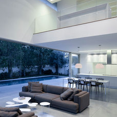 modern living room by Axelrod + Stept Architects