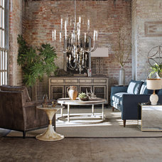 Eclectic Living Room by GABBY