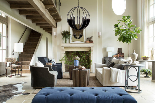 Beach Style Living Room by Summer Classics Home